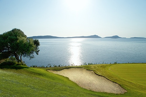 Costa Navarino Golf, The Bay Course