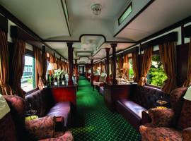 Rovos Rail - Train Lounge