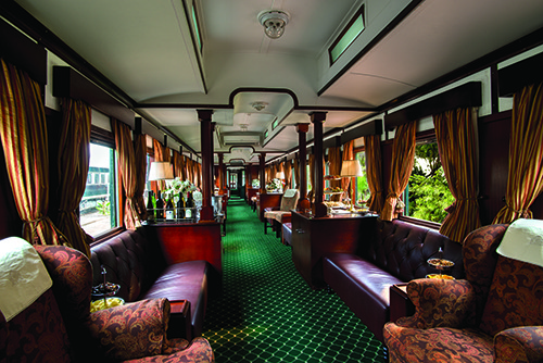 Rovos Rail - Train Lounge