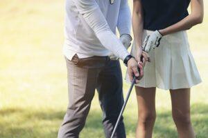 Golftrainer, Professional, Golfplatz, Golfschläger
